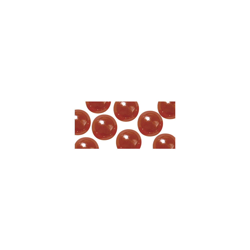 Acryl-Halbperlen, irisierend, 6 mm ø, SB-Blister 48 Stück, irisierend rot