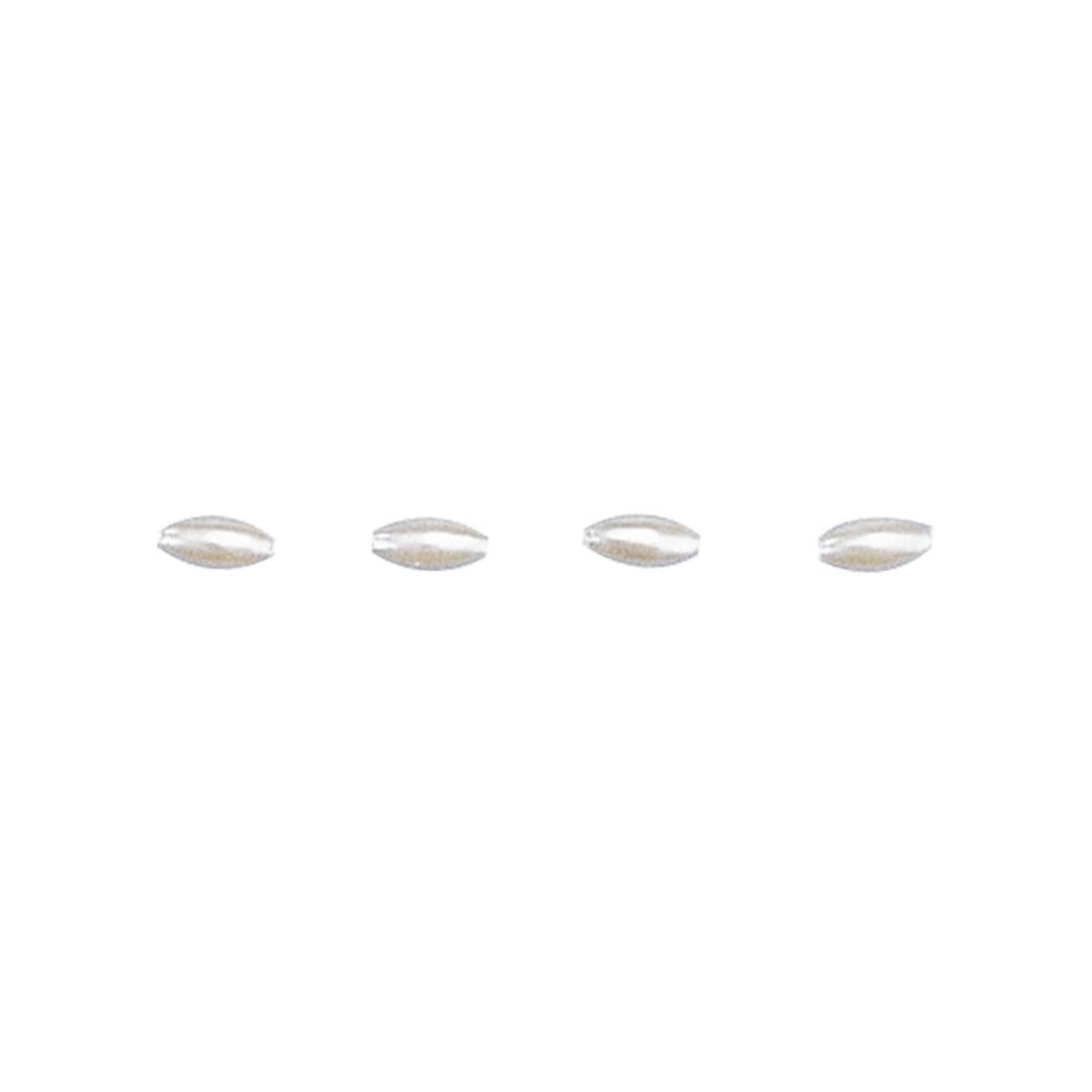 Kulturwachsolive, 6x3 mm, SB-Btl. 60 Stück