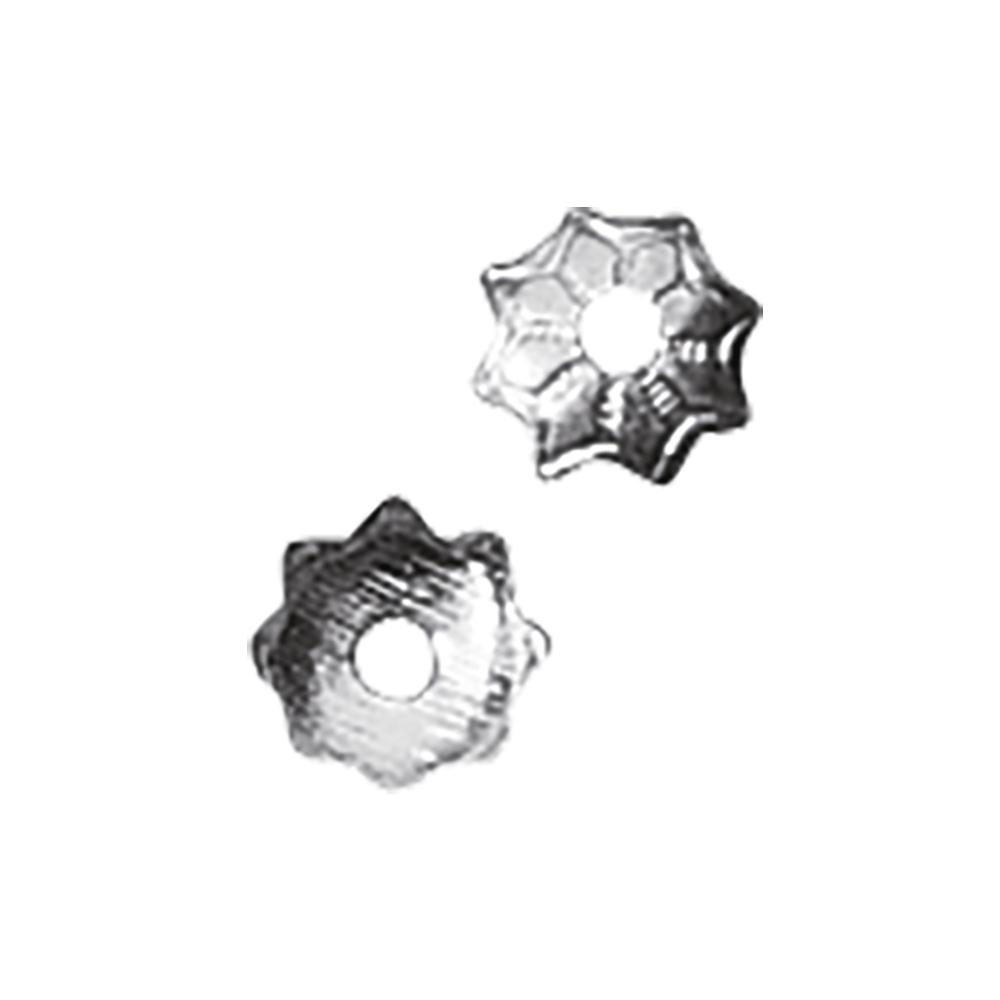 Perlenkappel, 4mm ø, SB-Btl 50Stück