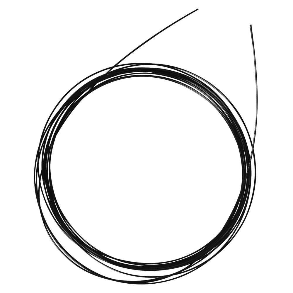 Nylon coated Schmuckdraht, 0,4mm ø, kunststoffummantelt, SB-Btl 2m