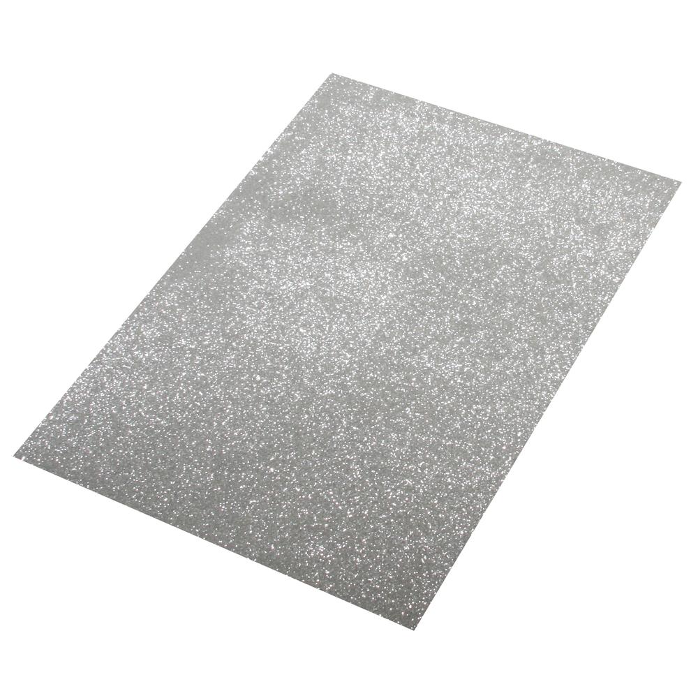 Moosgummi Platte Glitter, 30x45x0,2cm