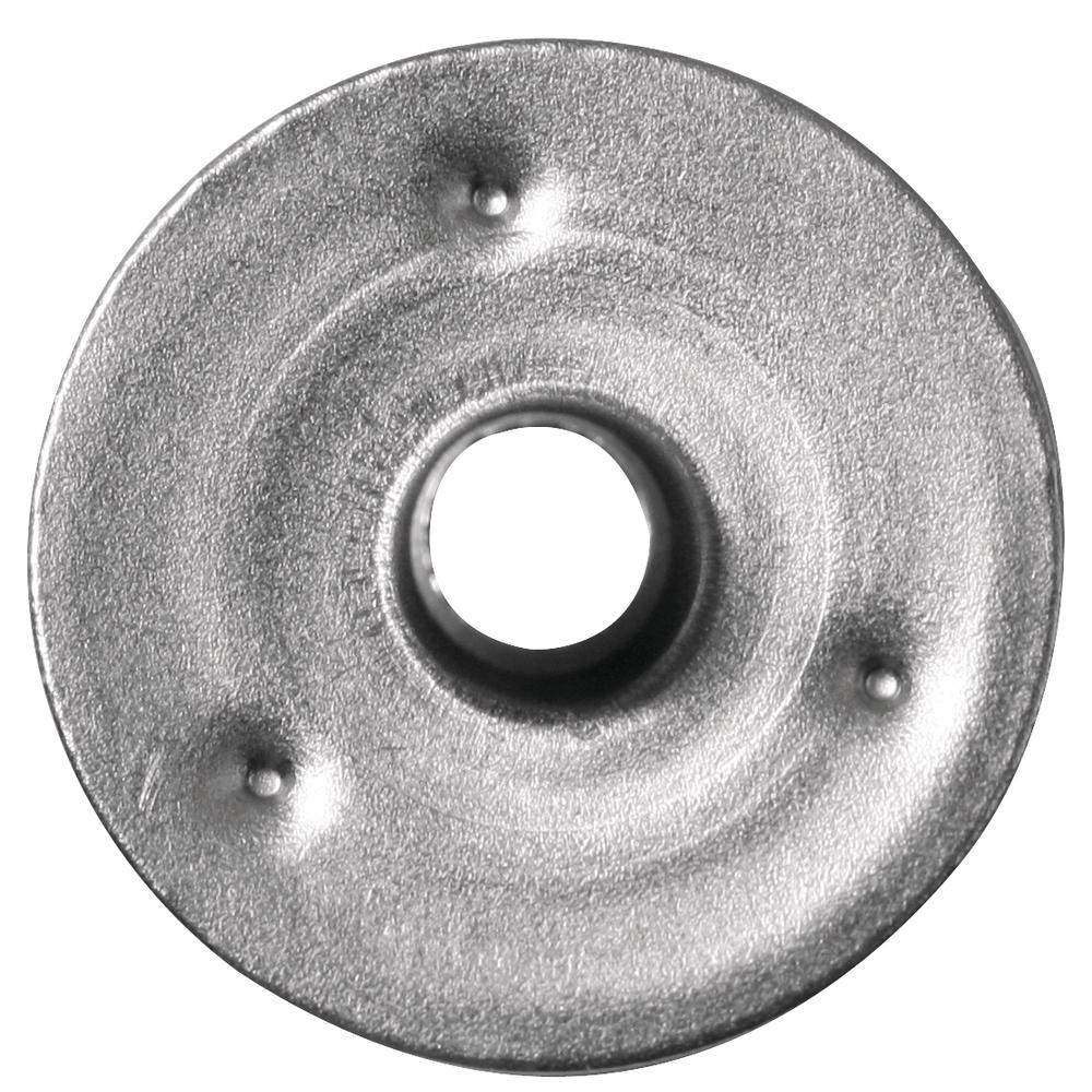 Metallplättchen für Dochte, 15 mm ø, SB-Btl. 50 Stück