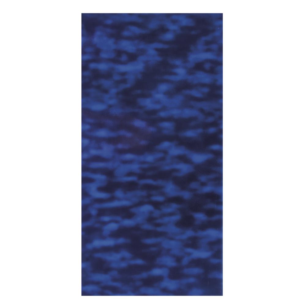 Wachsfolie-Wasser, 20x10cm, SB-Btl 1Stück, blau