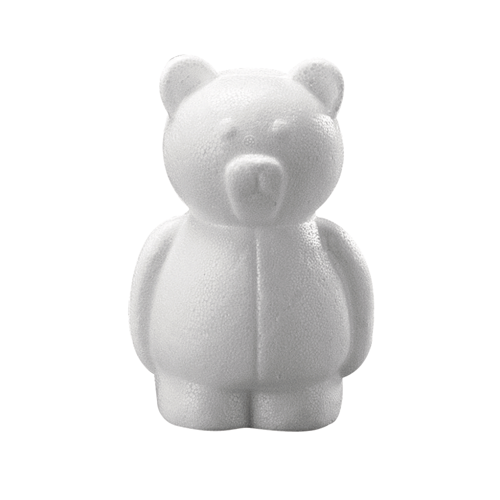 Styropor-Bär, 15 cm