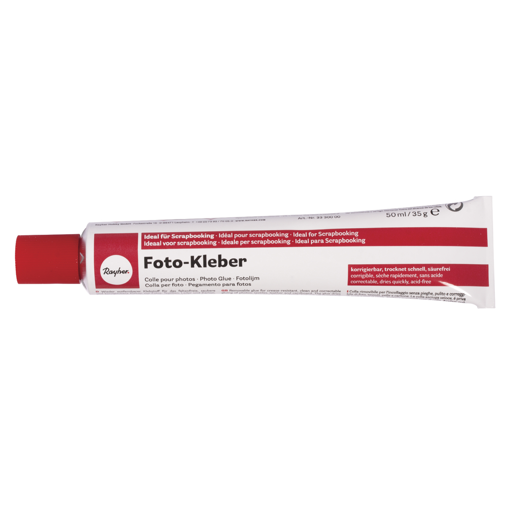 Fotokleber, 50ml, Tube 35g