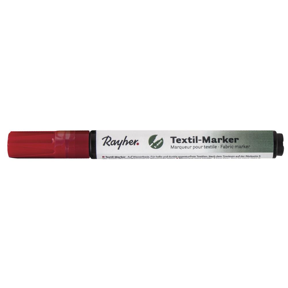 Textil-Marker deckend, Rundspitze 2-4 mm, mit Ventil