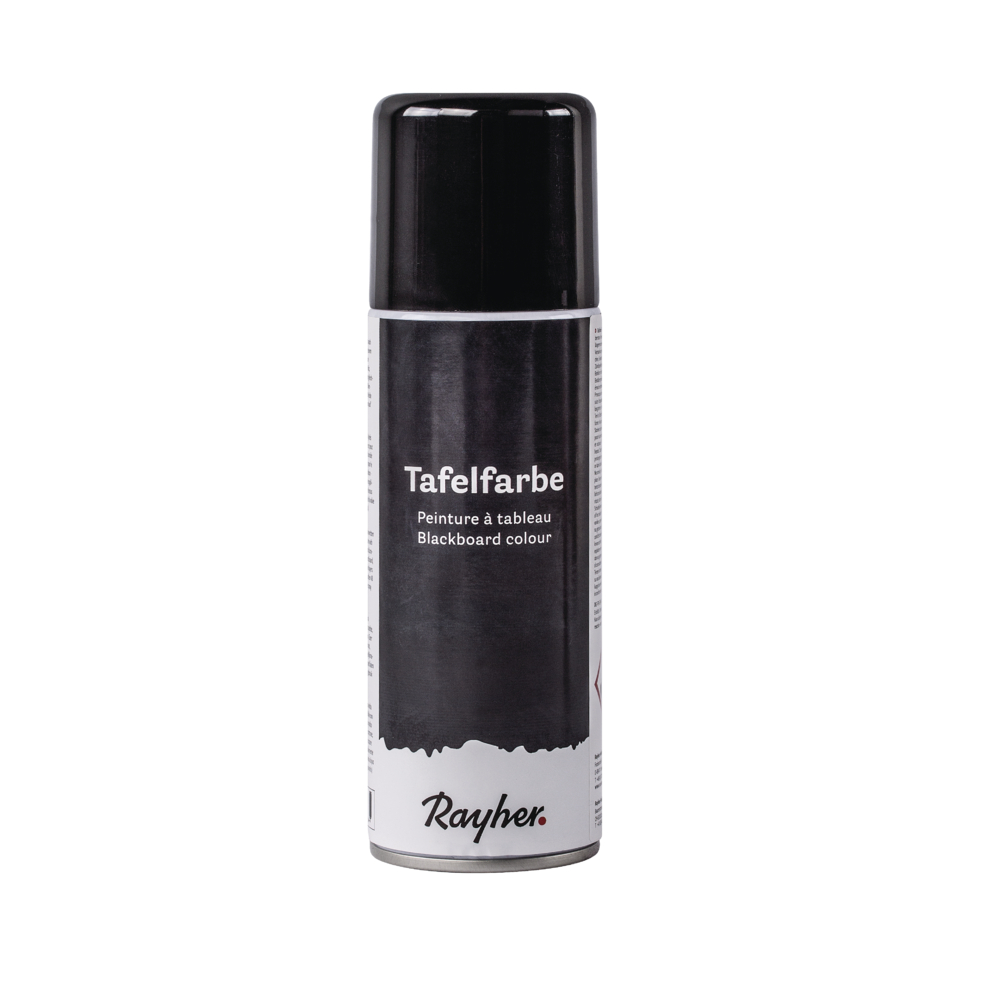 Tafelfarbe Spray, Dose 200ml, schwarz
