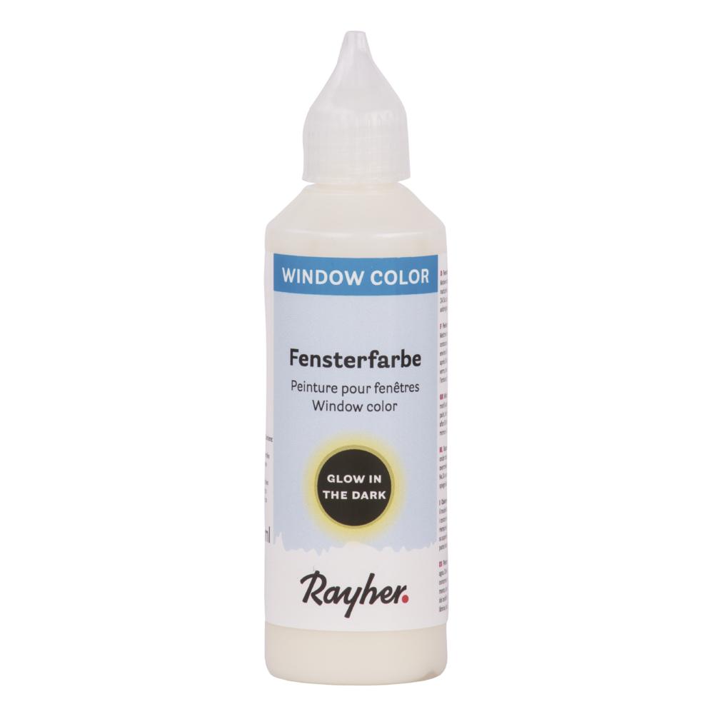 Nachtleuchtfarbe easy paint, Flasche 80 ml