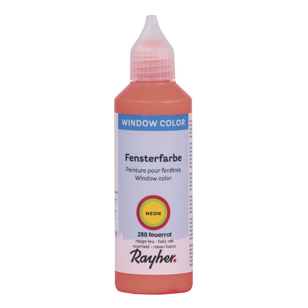 Neonfarbe  easy paint , Flasche 80 ml