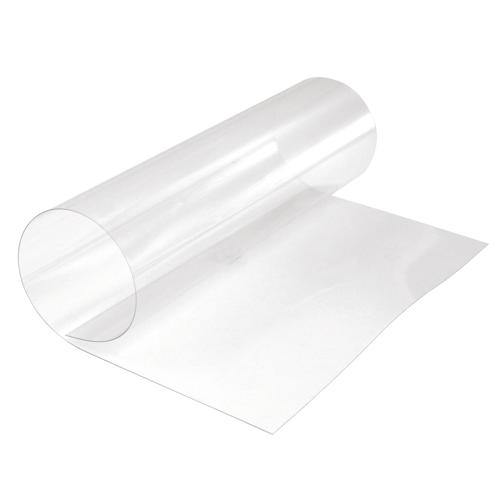 Transparent-Folie PVC, 30x40cm, Stärke 0,4mm