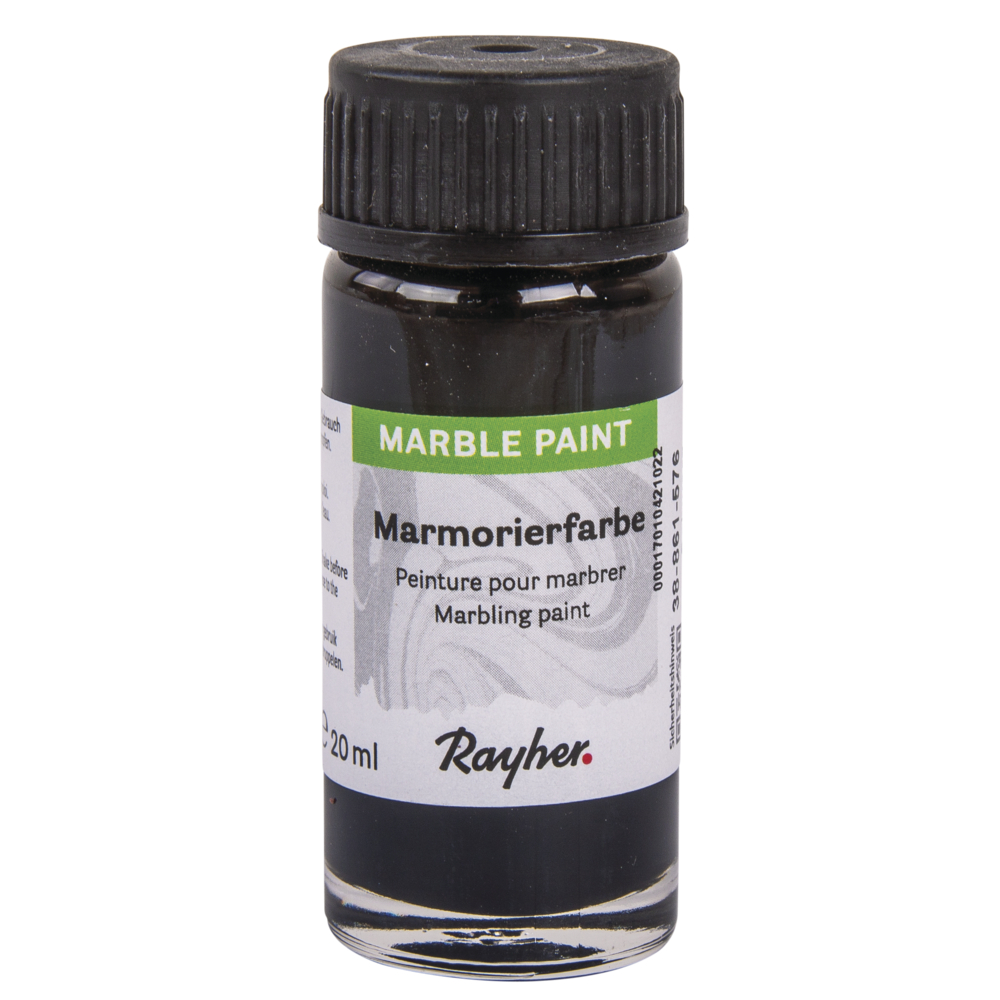 Marble Paint, Marmorierfarbe, Glas 20ml