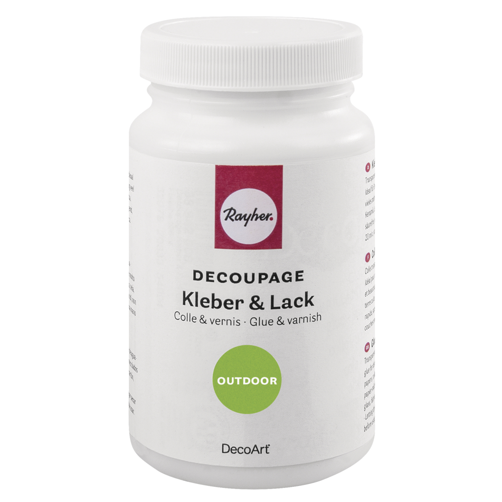 Decoupage Kleber&Lack Outdoor, Flasche 236ml