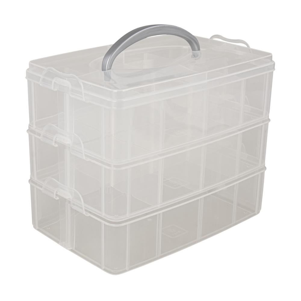 Sortierbox m. Tragegriff, 23,1x15,6x18,5cm