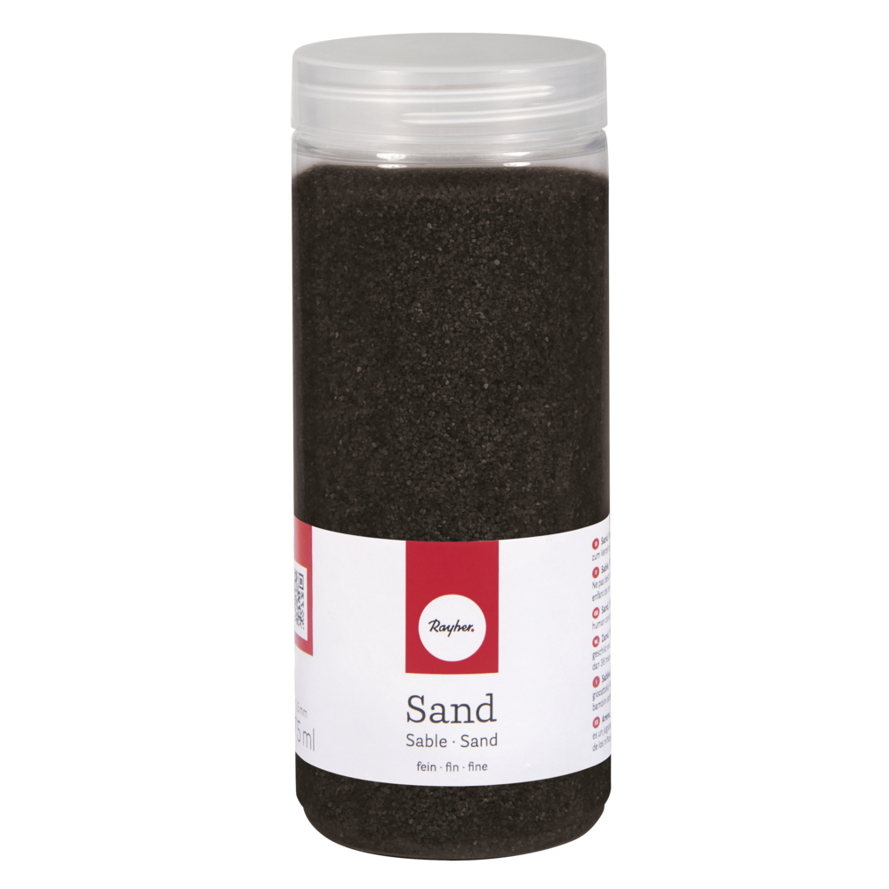 Sand, fein, 0,1-0,5mm, Dose 475ml