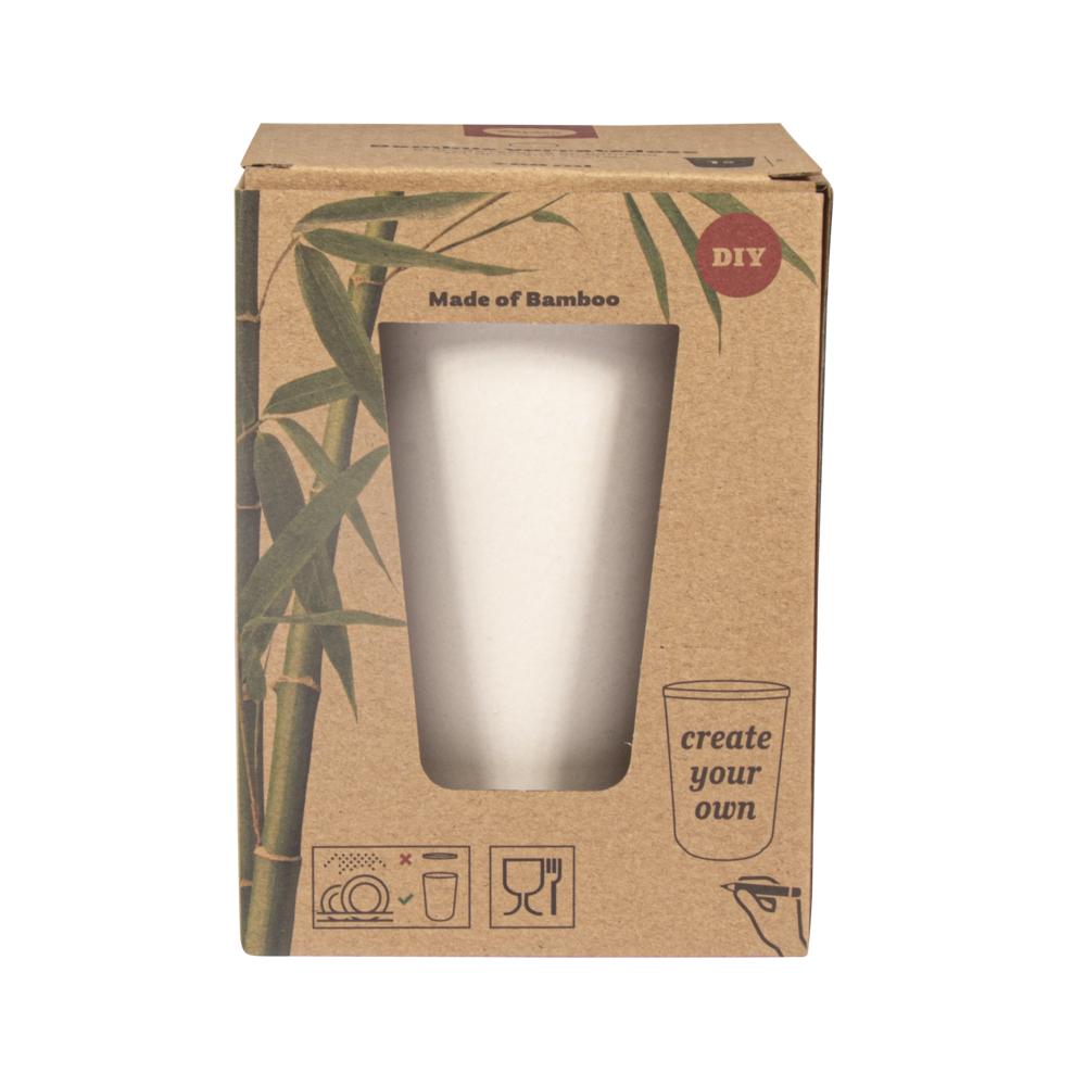 Bambus Vorratsdose rund, 700ml, 10,5cm ø, 14cm, Box 1Stück