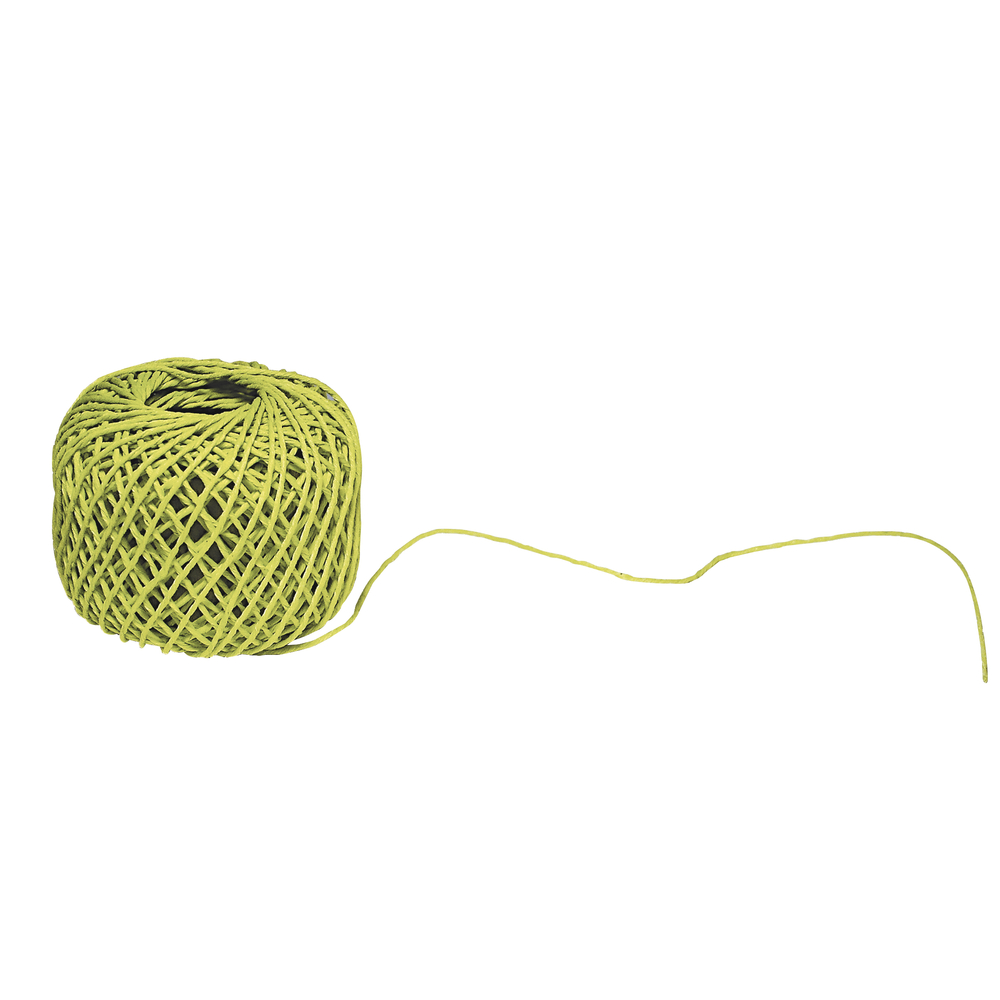 Dekokordel aus Baumwolle, 1 mm, Knäuel 20 m