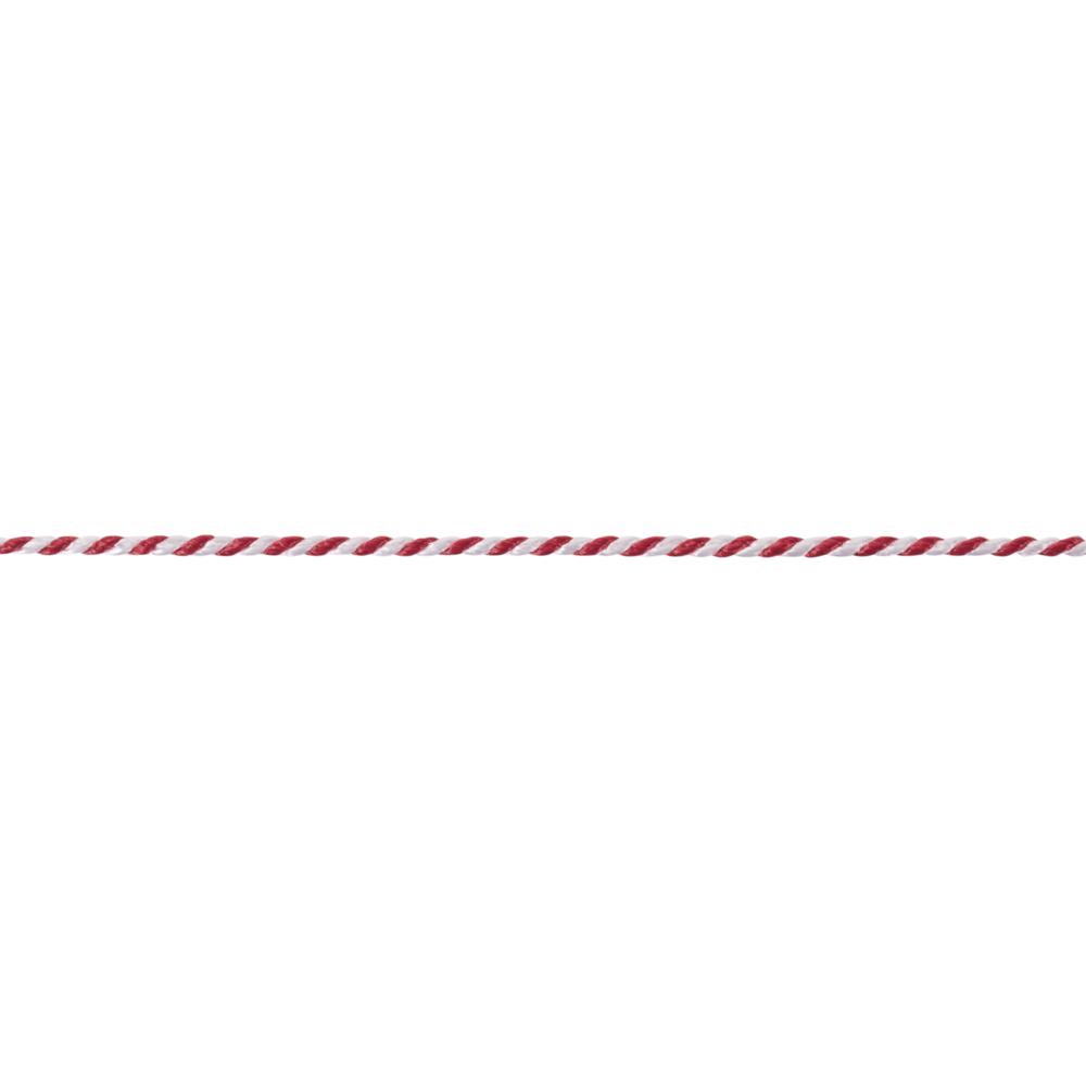 Deko-Kordel, zweifarbig, 2 mm, Rolle 50 m