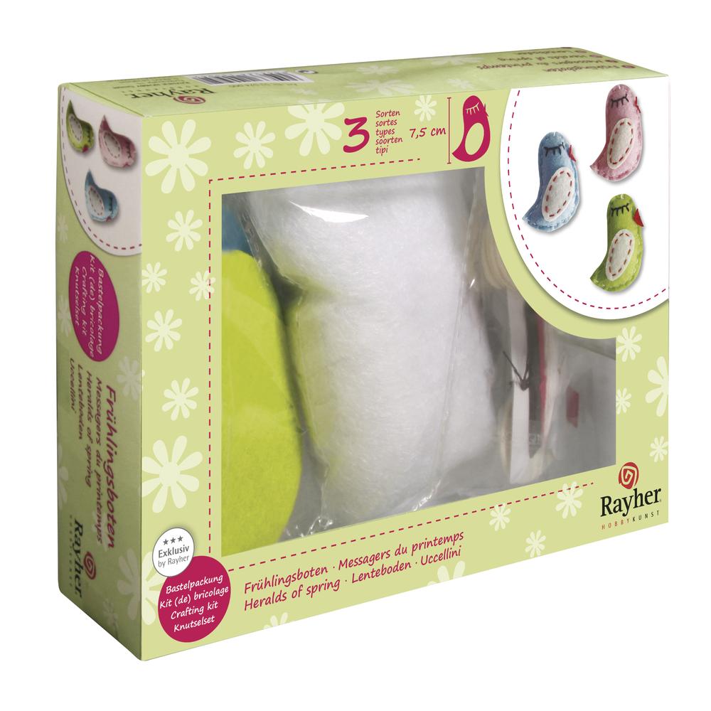 Bastelpackung -Frühlingsboten-, 7,5cm, 3 Farben, Box 3Set