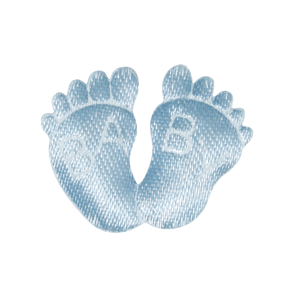 Stoff-Füße Baby, SB-Btl à 6 Stück