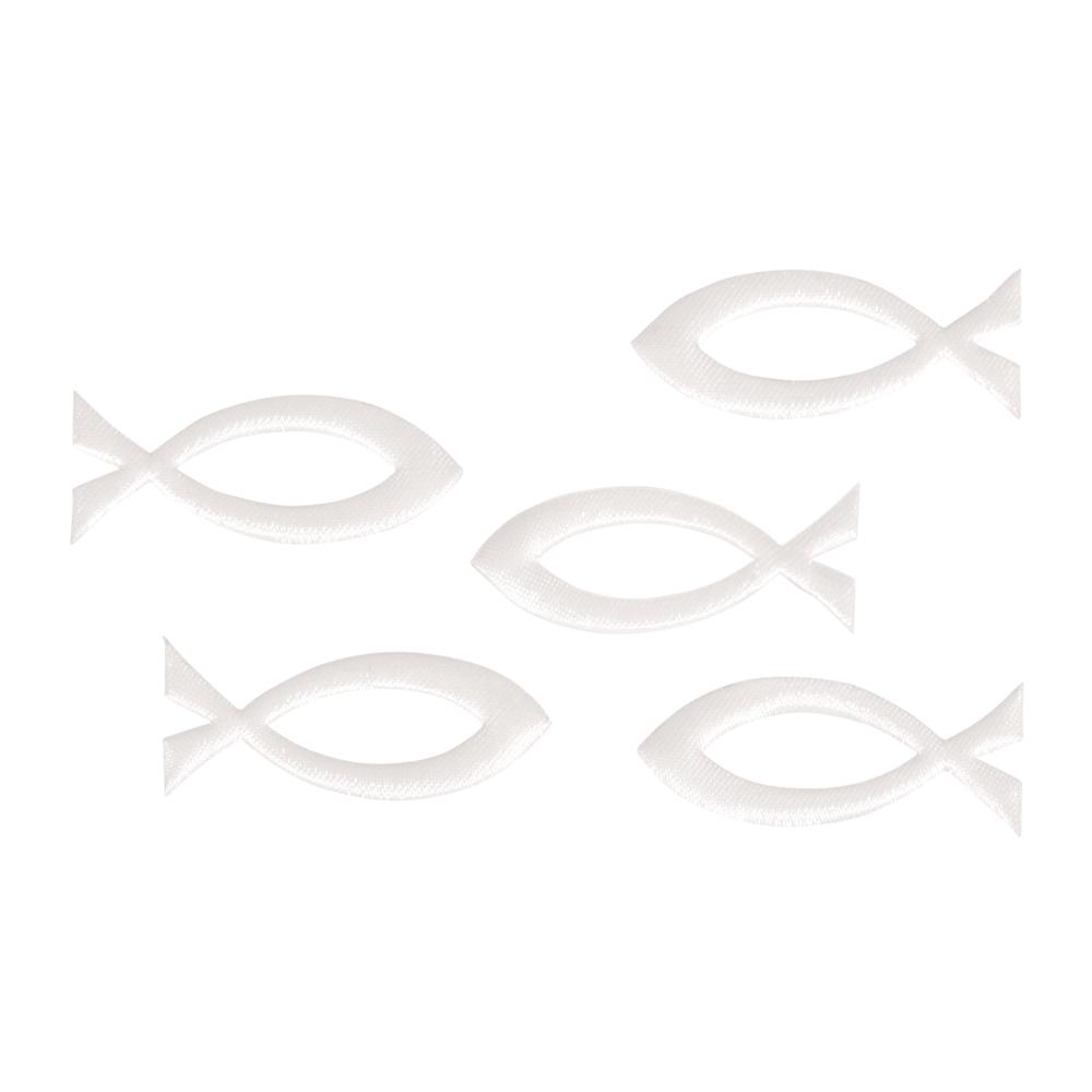Streuteil Fisch, 5,2x2,1cm, SB-Btl 5Stück