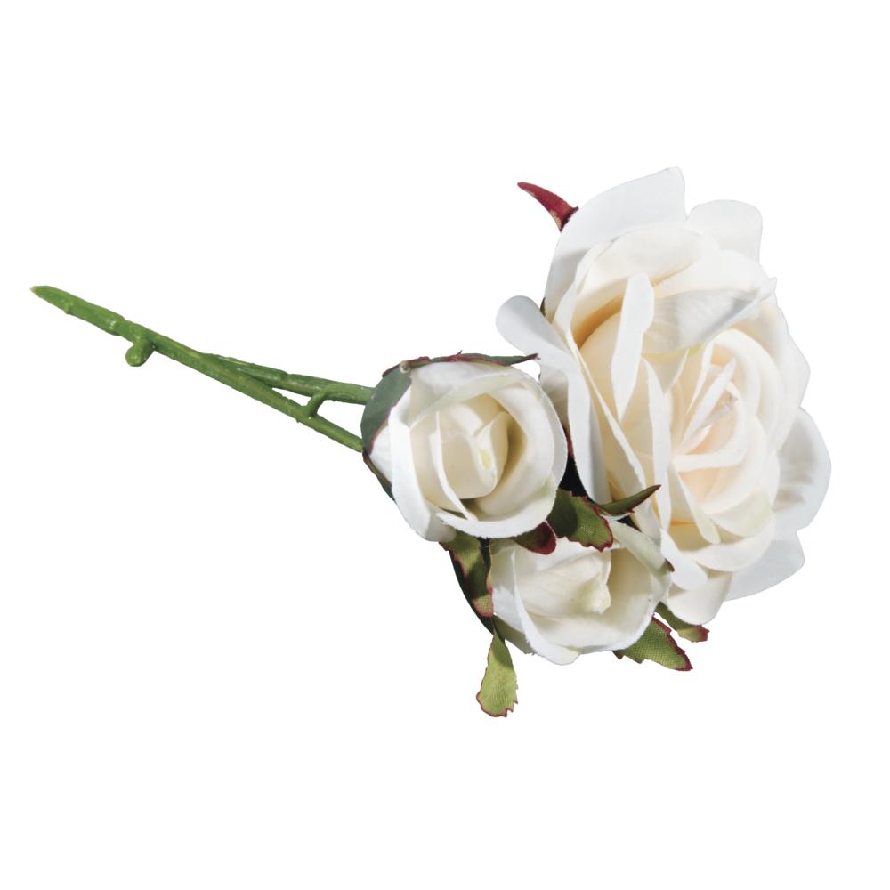 Rosen Pick, 15cm, 3 Blüten