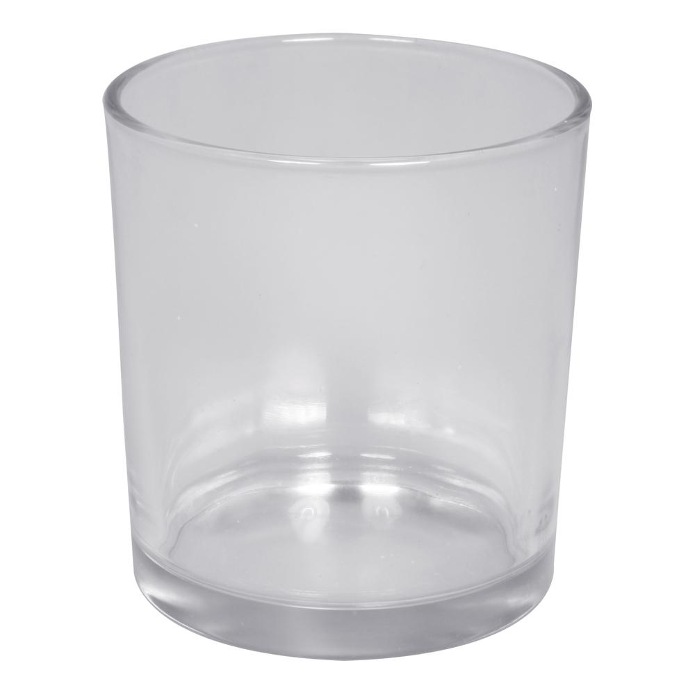 Glas Gefäß, Höhe:8cm, ø innen:5,5cm(unten)