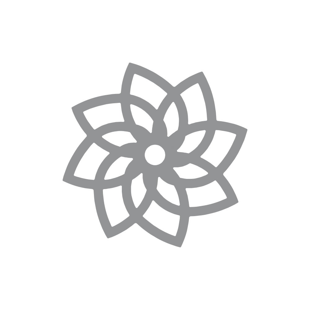 Intricate Shape Punch - Lotus, 5cm ø, SB-Blister
