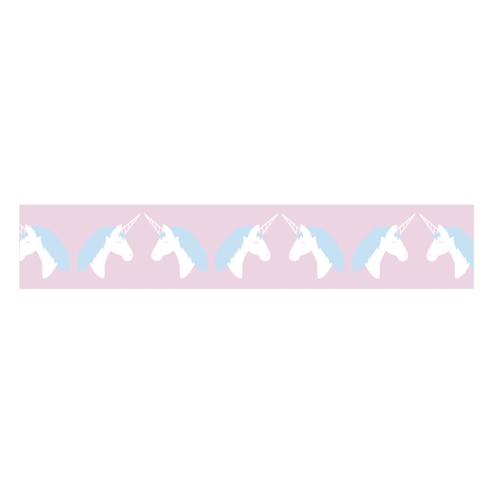Washi Tape Unicorn, 15mm, Rolle 10m