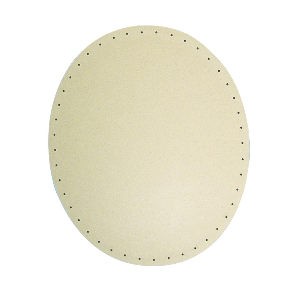 MDF-Korbflechtboden, 30x20cm, oval, Löcher ø 3mm