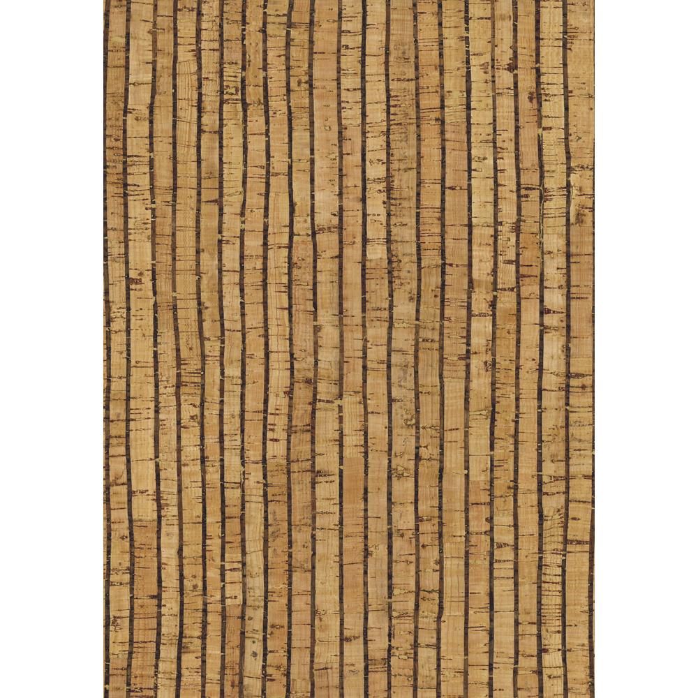 Korkstoff Streifen gerollt, 45x30cm, nat./schw., 0,8 mm, Box 1Rolle