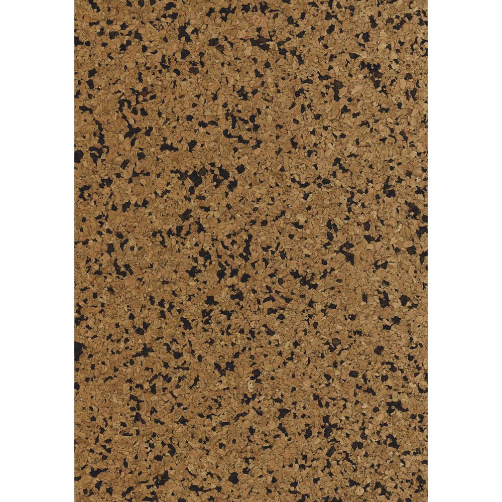 Korkstoff Granulat gerollt, 45x30cm, nat./schw., 0,5 mm , Box 1Rolle