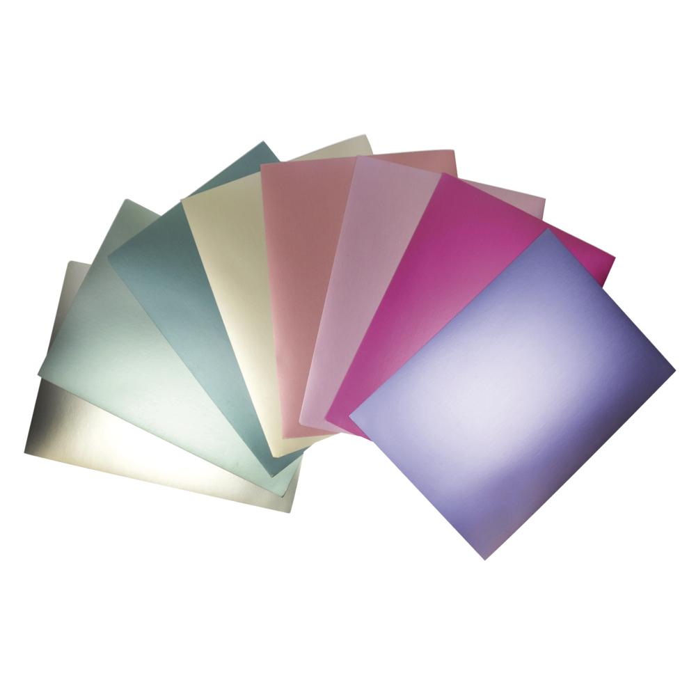 Effektpapier Metallic Mix, A4, 250g/m2, 8 Farben, 8Blatt, bunt