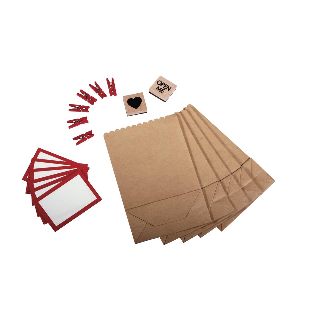 Set-Geschenktütchen, 9x3,7x13,5cm, SB-Btl