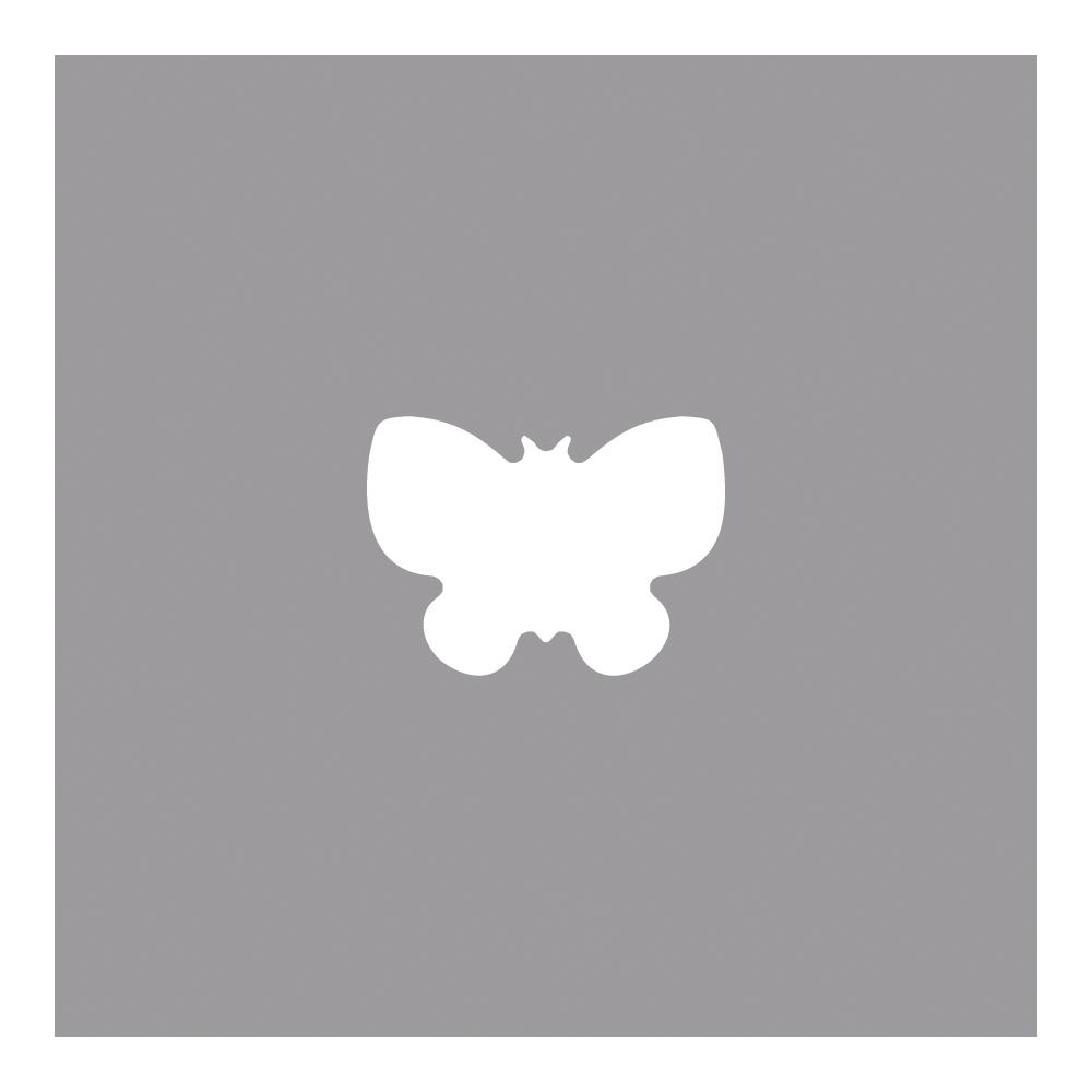Ministanzer Schmetterling, 0,95cm ø, (3/8'') m. Schlüsselanhänger