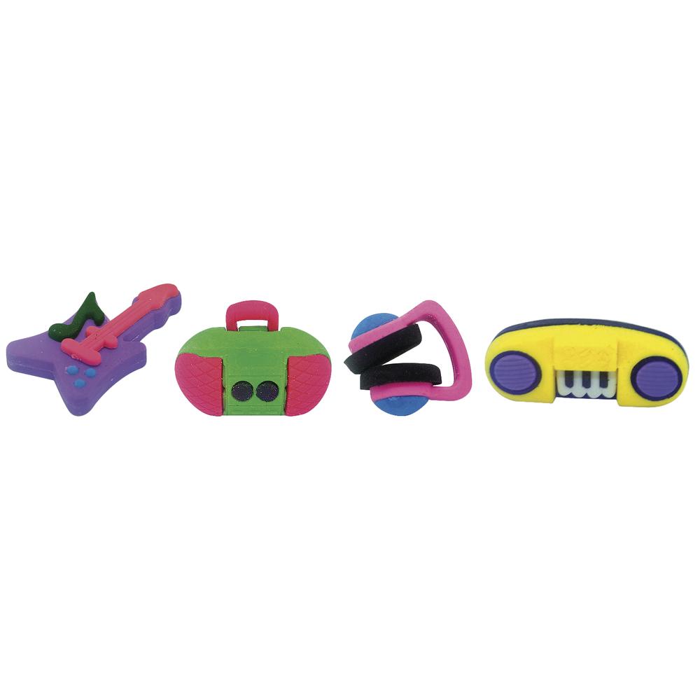 Ratze fun-Set Music, 4 verschiedene Motive, PVC-Box 4Stück