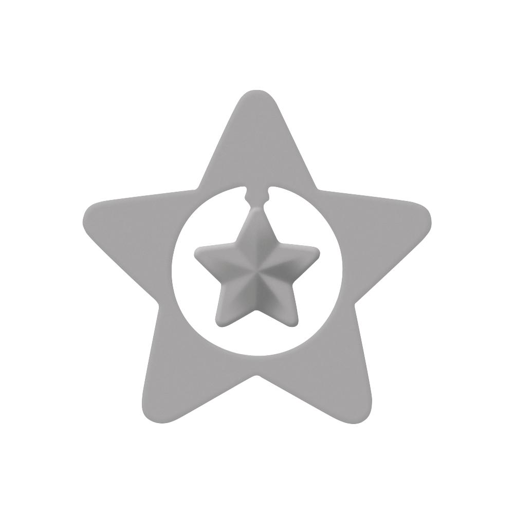 Emb./Silhouetten-Stanzer: Stern, 4,4cm ø, SB-Blister 1Stück