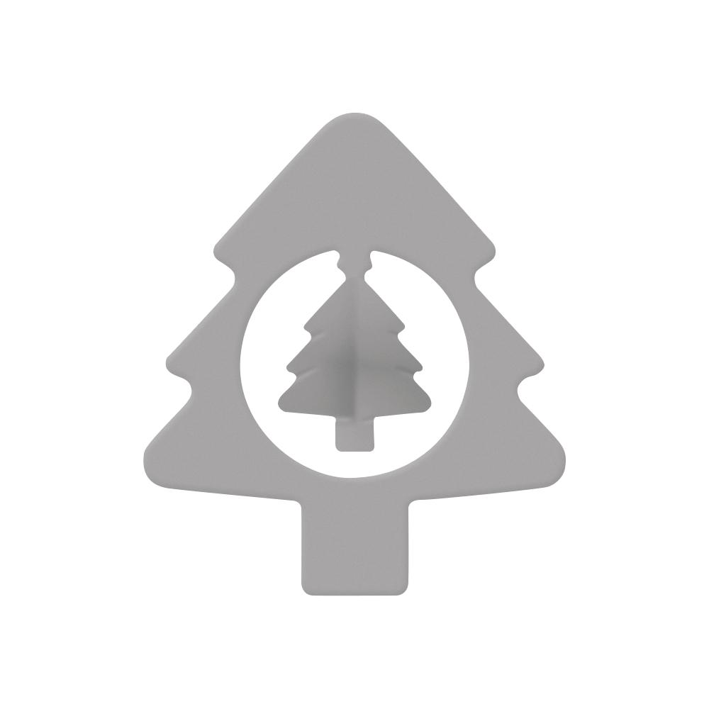 Emb./Silhouetten-Stanzer: Tannenbaum, 4,1x4,4cm, SB-Blister 1Stück