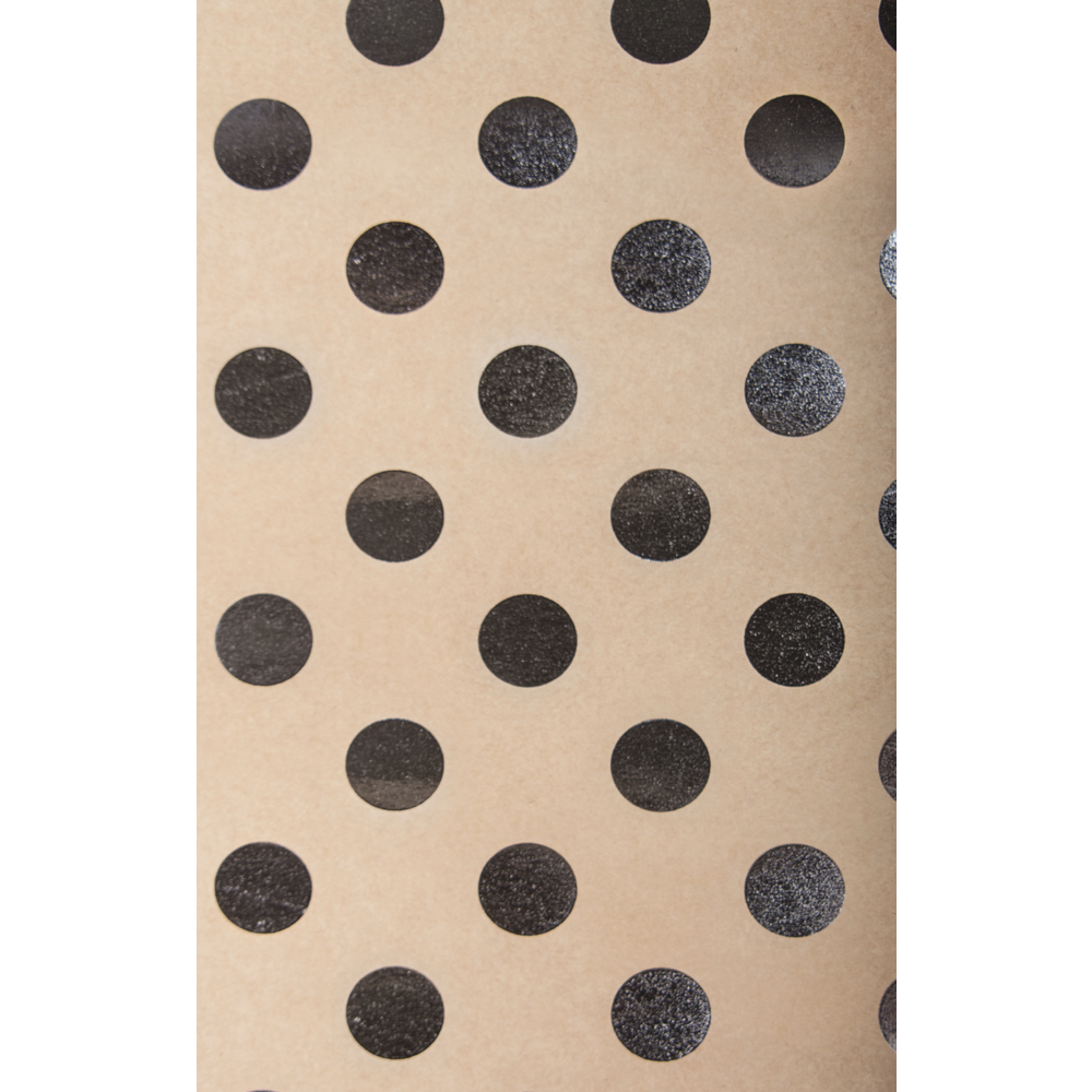 Bastelkarton Kraft -Punkte, 50x70cm, 300g/m2