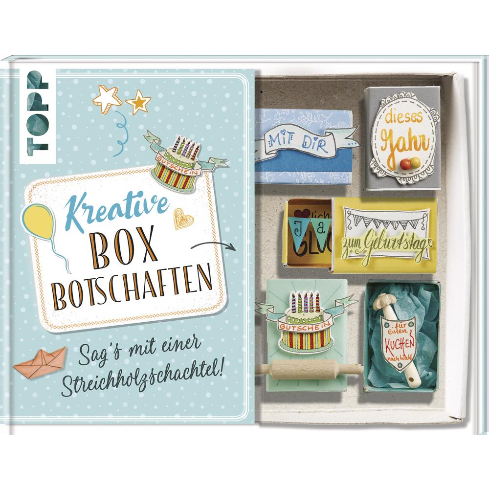 Buch: Kreative Box Botschaften, Hardcover,nur in deutscher Sprache
