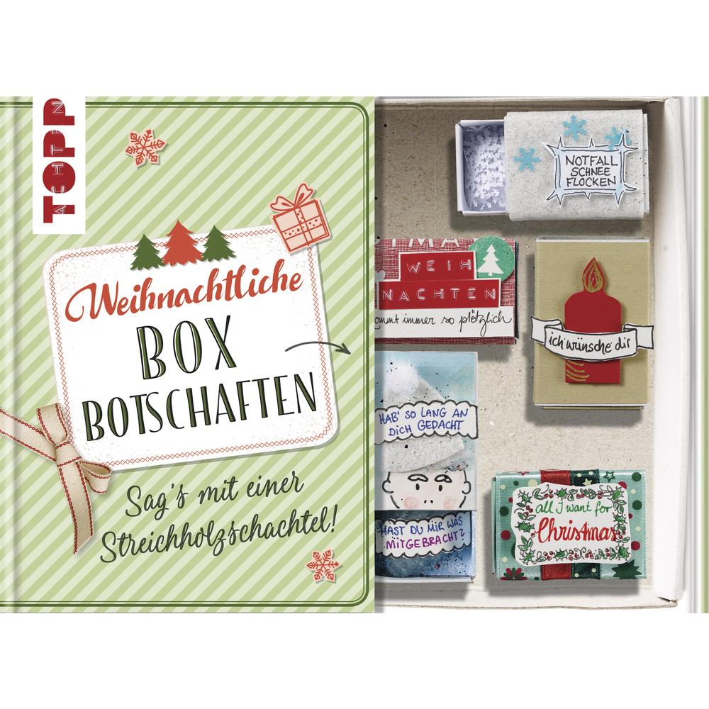 Buch: Weihnachtliche Box Botschaften, Hardcover,nur in deutscher Sprache