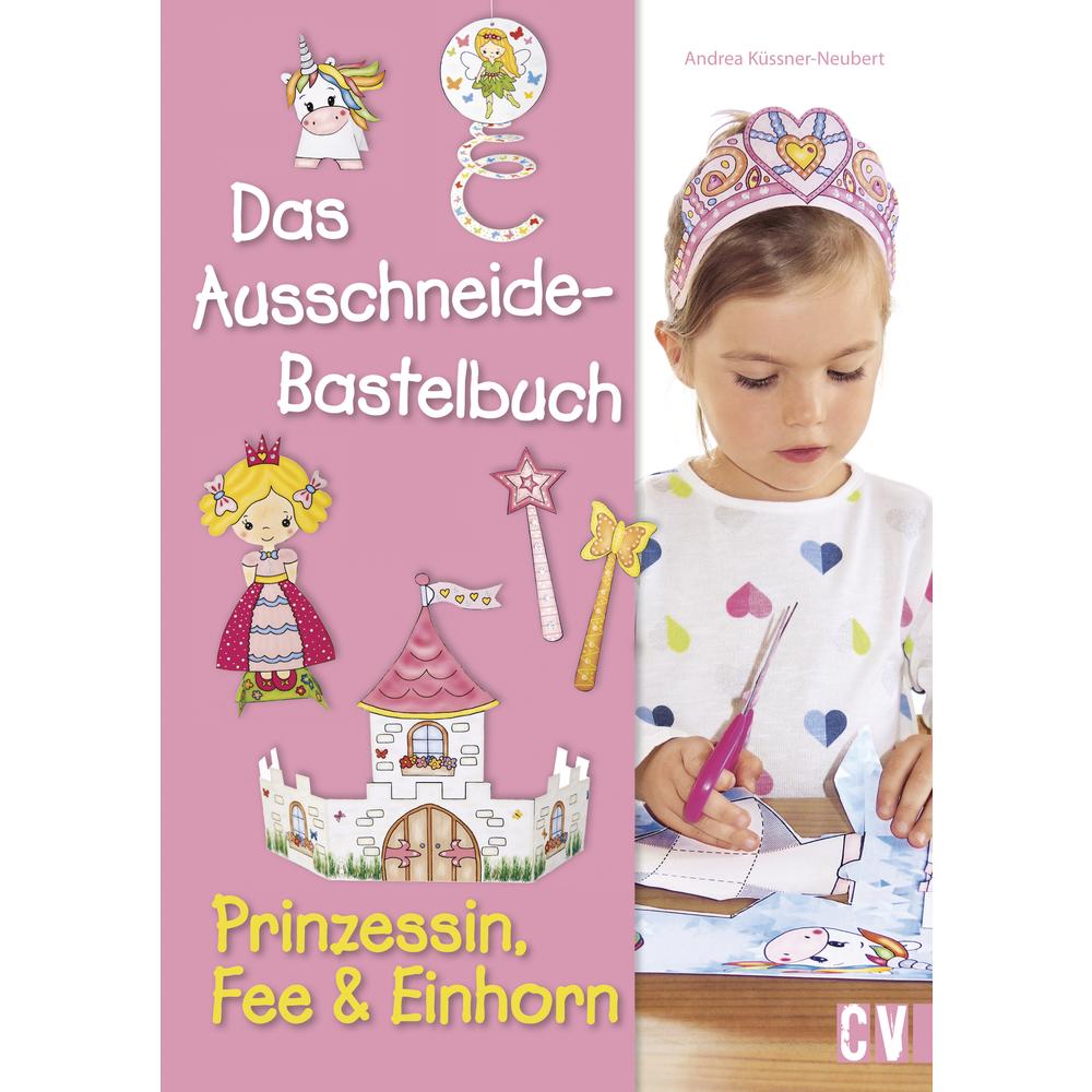 Ausschn.-Bastelbuch Prinzessin,Fee..., nur in deutscher Sprache