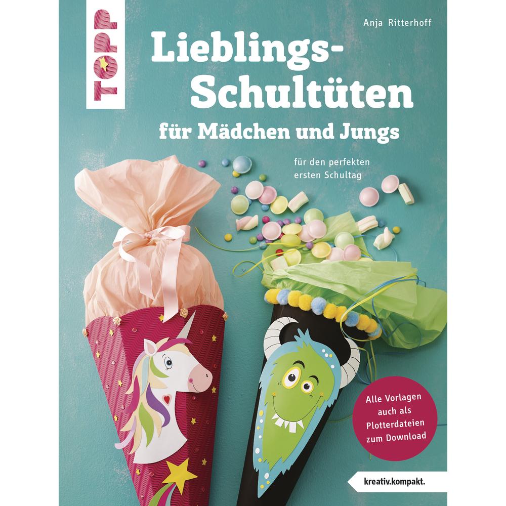 Buch: Lieblings-Schultüten, nur in deutscher Sprache