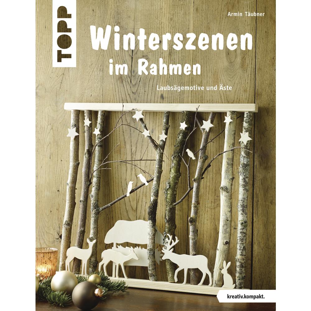 Buch: Winterszenen im Rahmen, nur in deutscher Sprache