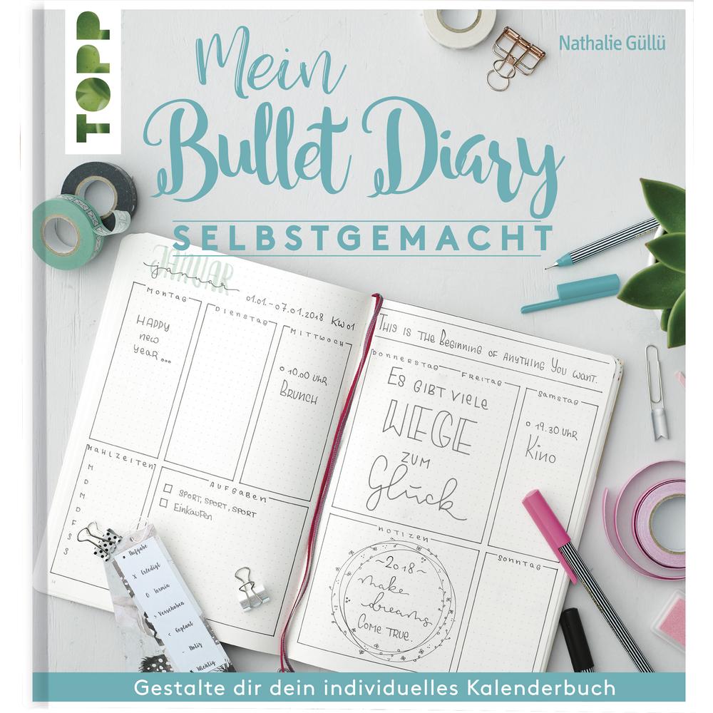 Buch: Mein Bullet Diary, Hardcover,nur in deutscher Sprache