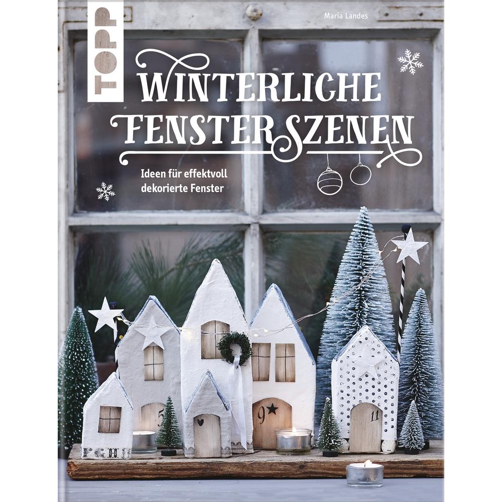 Buch: Winterliche Fensterszenen, Hardcover,nur in deutscher Sprache