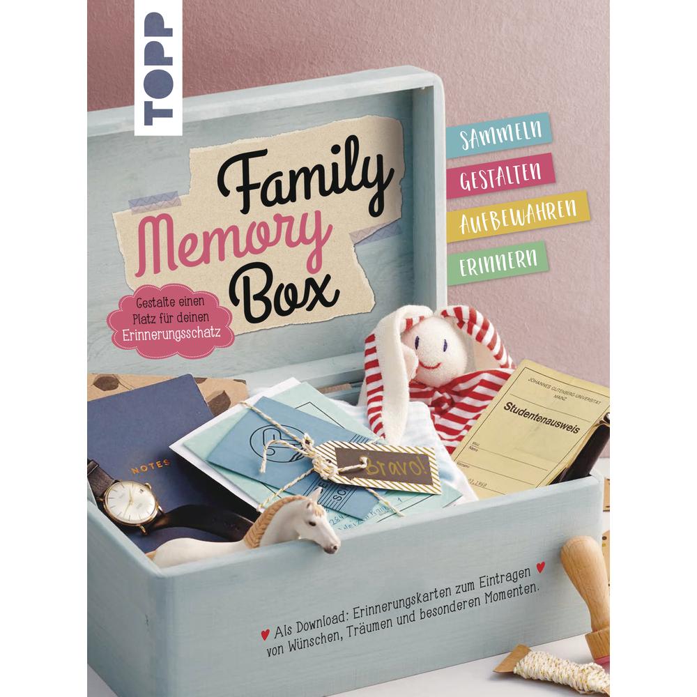 Buch: Family Memory Box, Hardcover,nur in deutscher Sprache