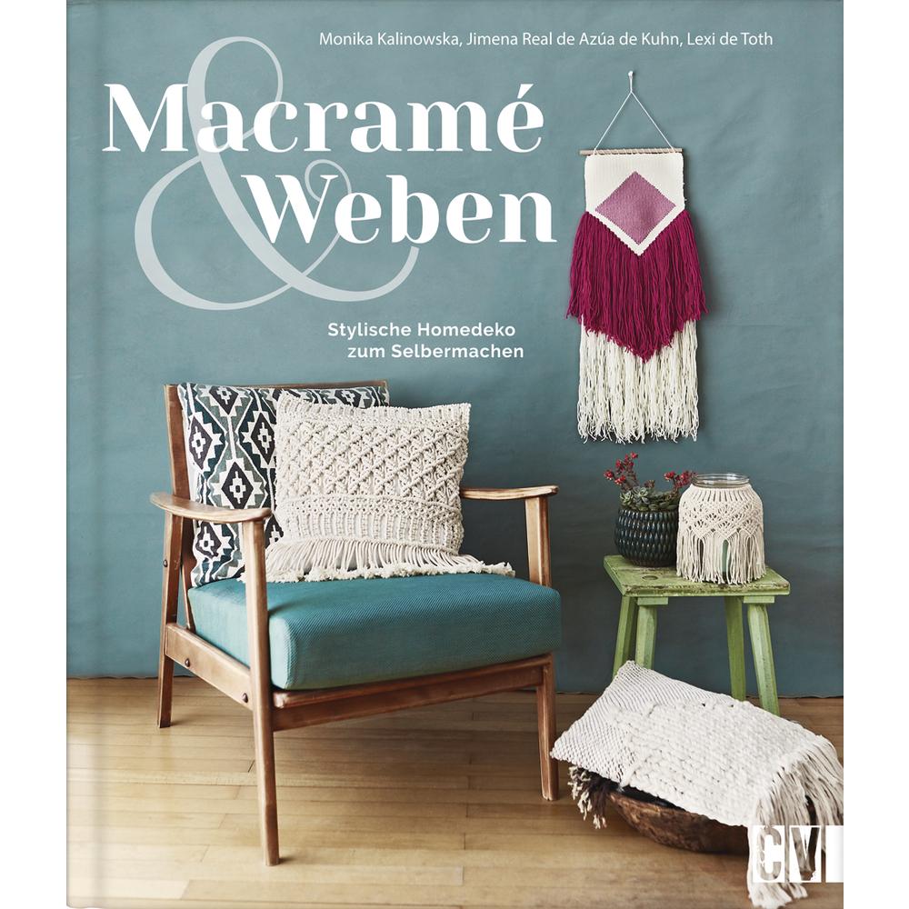 Buch: Macramé Weben, nur in deutscher Sprache,Hardcover