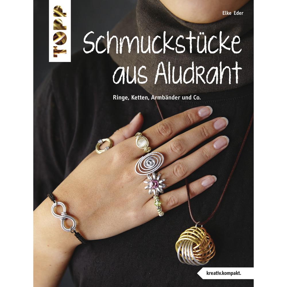 Buch: Schmuckstücke aus Aludraht, nur in deutscher Sprache