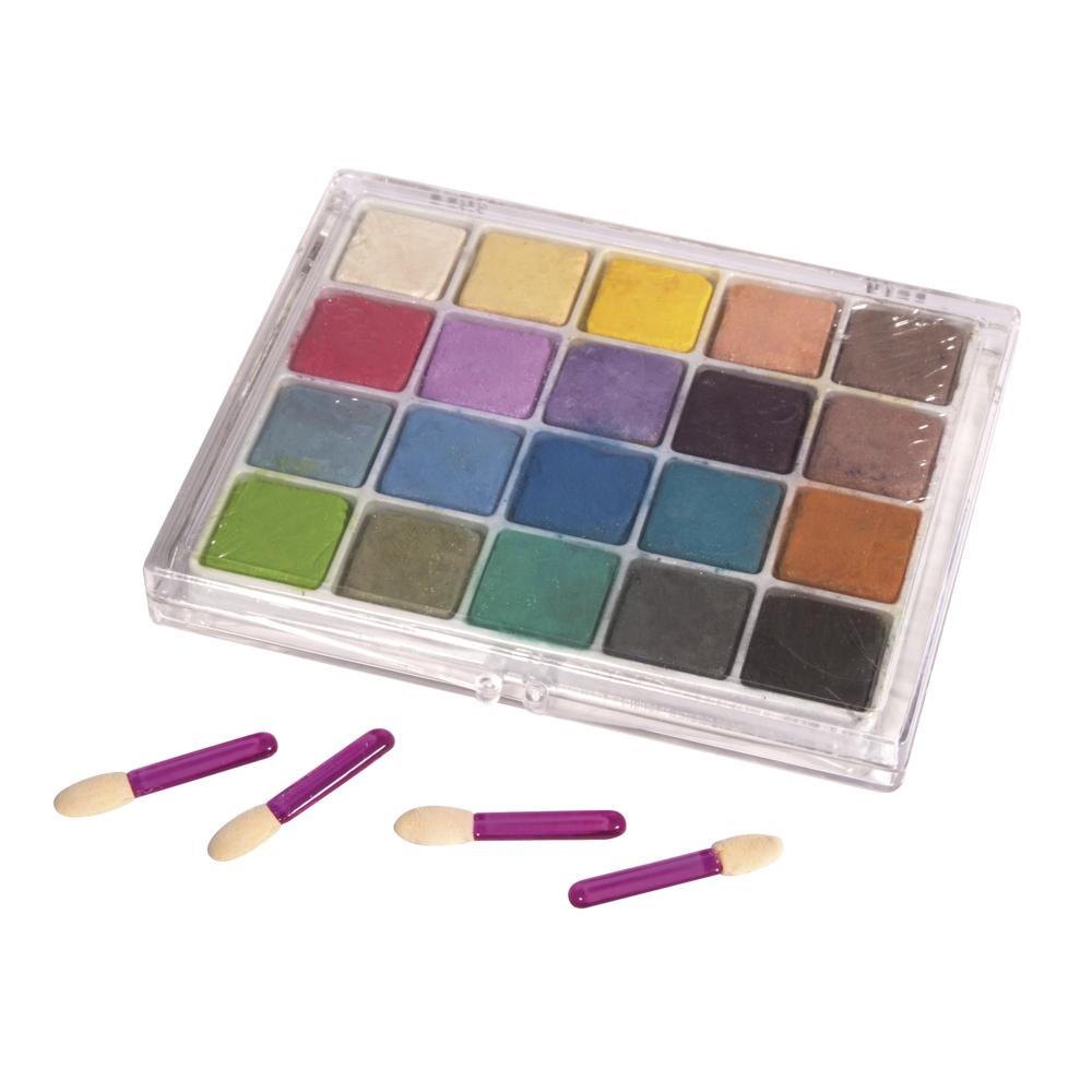 Pastell-Kreiden, inkl. 4 Ersatzpinsel, Box 20Farben