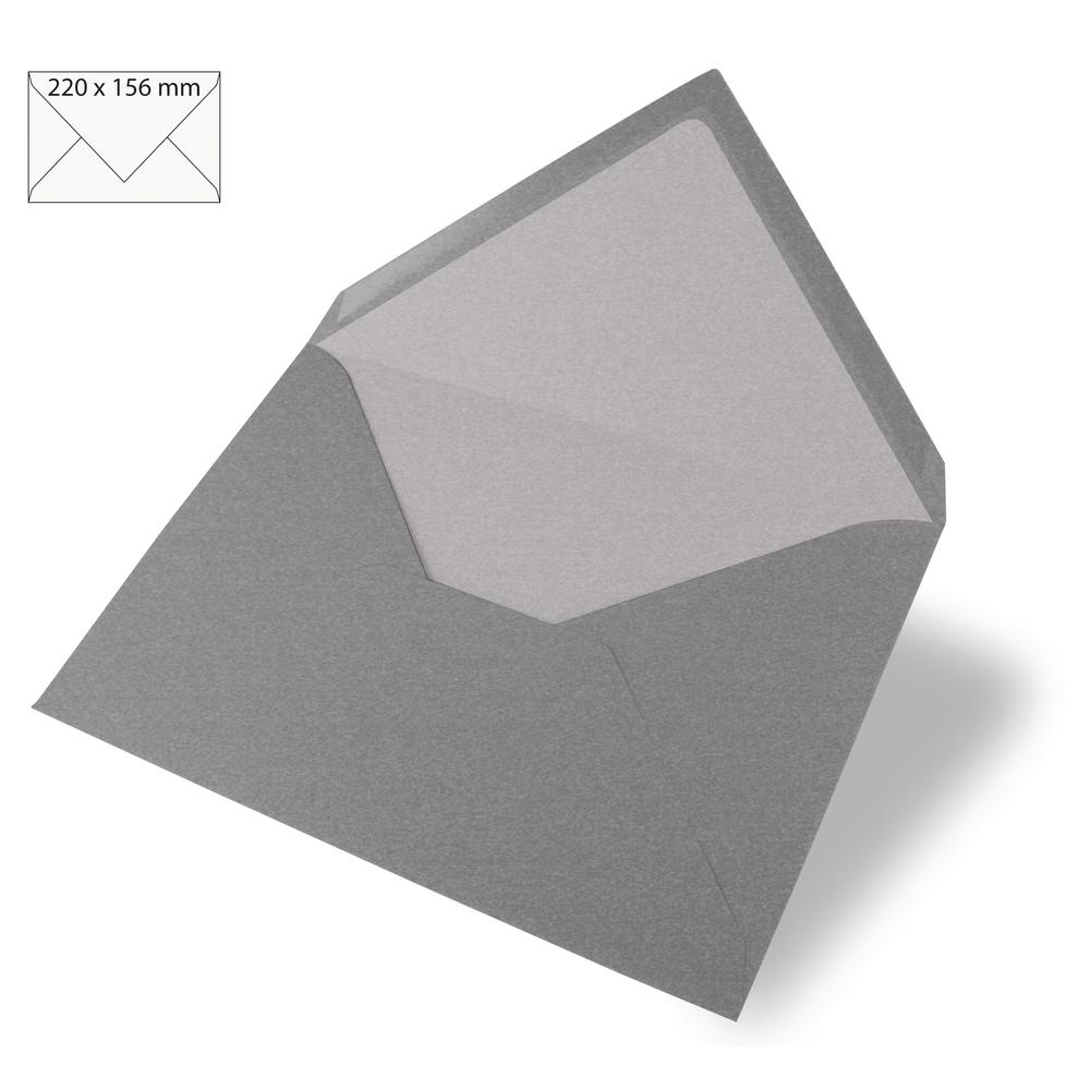 Kuvert C6, uni, FSC Mix Credit, 156x110mm, 90g/m2, Beutel 5Stück